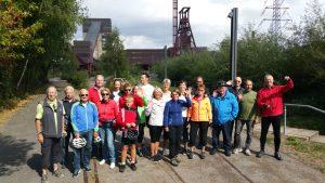 Radtour zur Zeche Zollverein