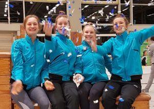 Heisingen mit starkem Ergebnis bei deutschen Vereins-Mannschaftsmeisterschaften im Rhönradturnen