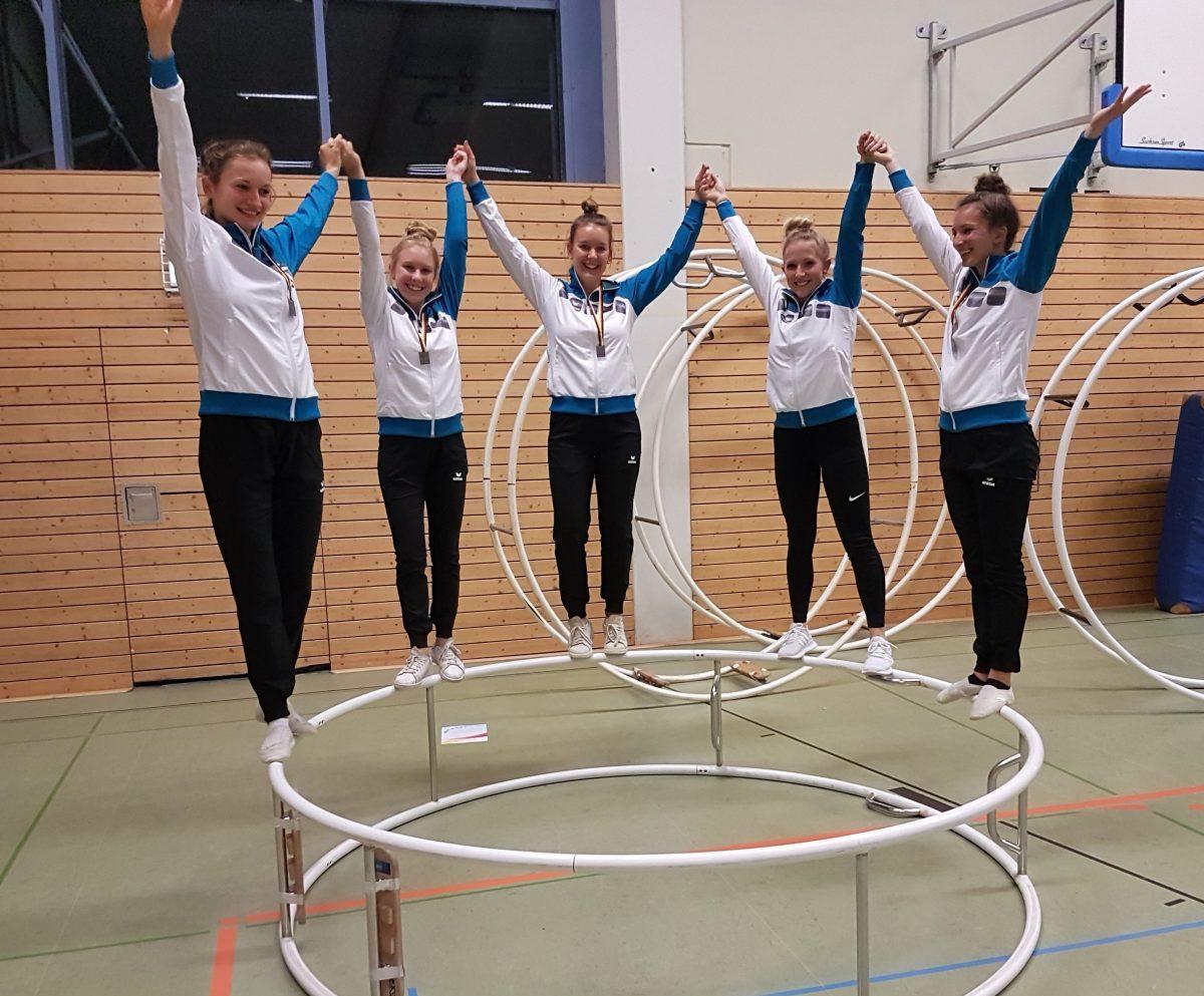Heisinger Rhönrad-Damen turnten sensationell bei den Norddeutschen Meisterschaften bei Bremen