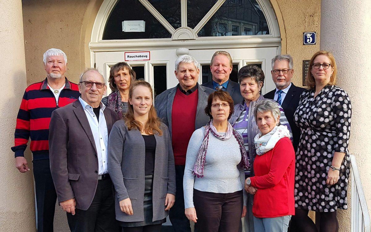 SportGemeinschaft Heisingen ehrt ihre langjährigen Mitglieder.